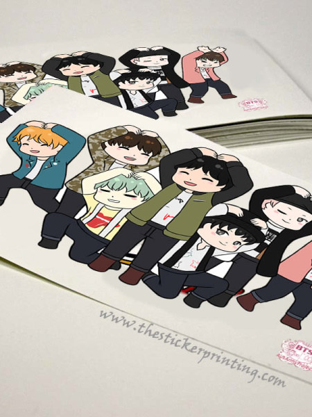 Custom Vinyl Sticker Printing