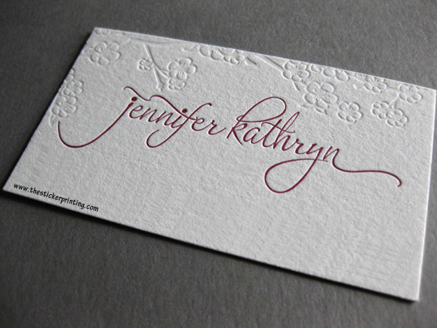 Business cards printing online melbourne thestickerprinting embossed business cards australia reheart Gallery