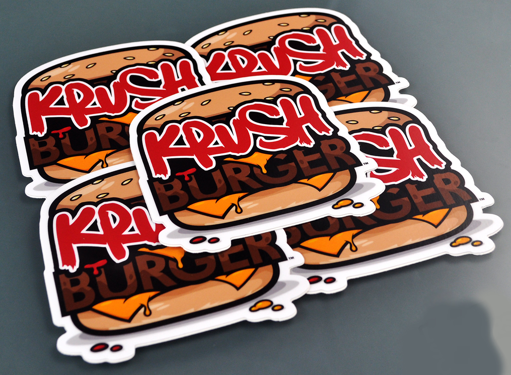 Full colour die cut stickers printing australia