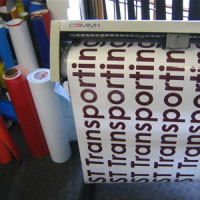 Plotter and Letter Cut Stickers