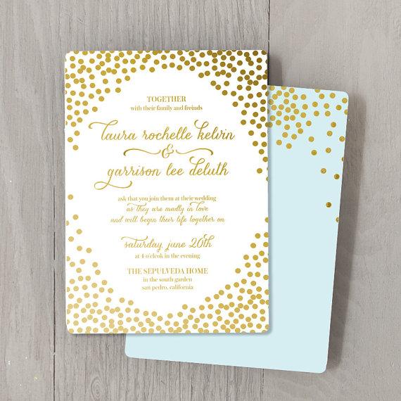 foil stamped wedding invitations australia - broprahshow, Wedding invitations