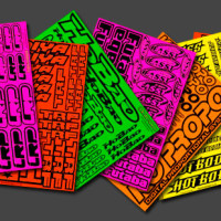 Printed Fluorescent Stickers Australia
