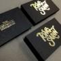 Gold Foil Stamped Cards