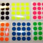 Sheet Fluorescent Stickers Printing Australia