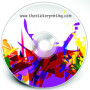 Cheap CD Sticker Printing Australia