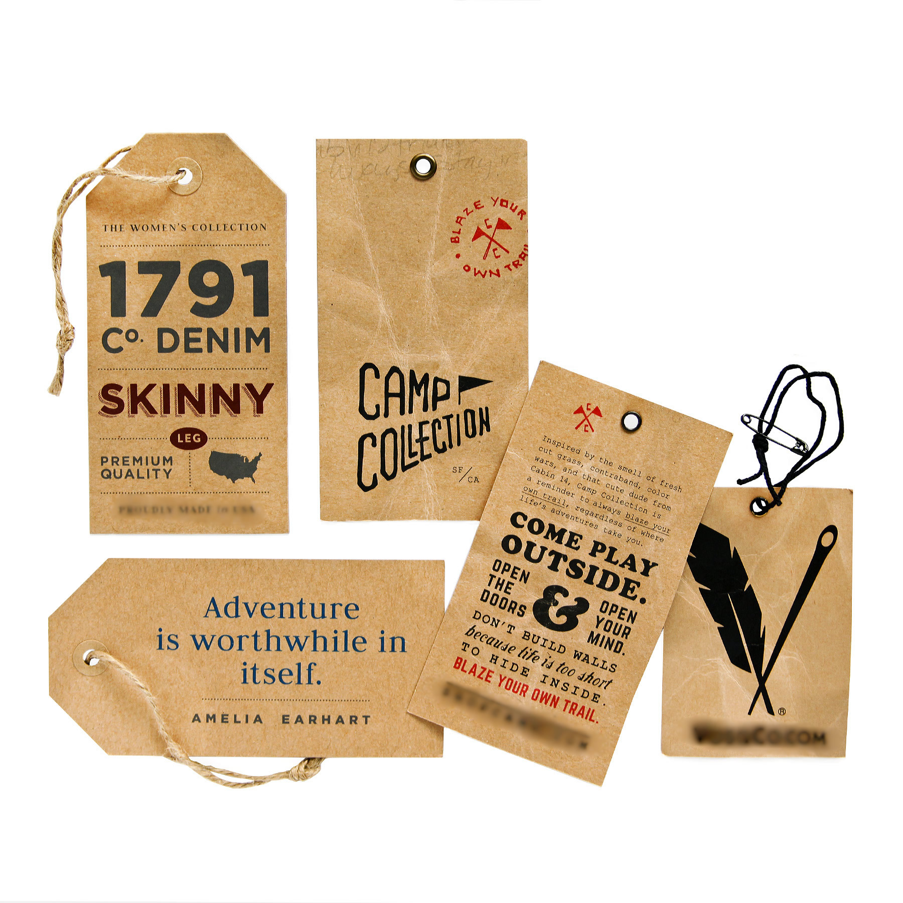 Cheap Hang Tags | Kraft Hang Tag Printing - TheStickerPrinting