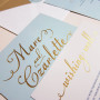 Foil Stamping Wedding Invites Australia