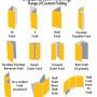 Brochures Folding Templates