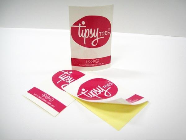 Paper sticker printing australia