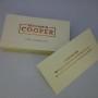 Copper Foil Clear Stickers