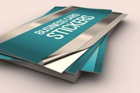 permanent business card stickers australia - Business Card Stickers