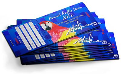 ticket book printing