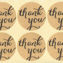 Thank You seal stickers printing Australia