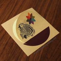 Kraft Paper Stickers Printing Australia
