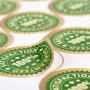 Cut Round Stickers