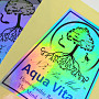 Custom Printed Fluorescent Stickers Australia